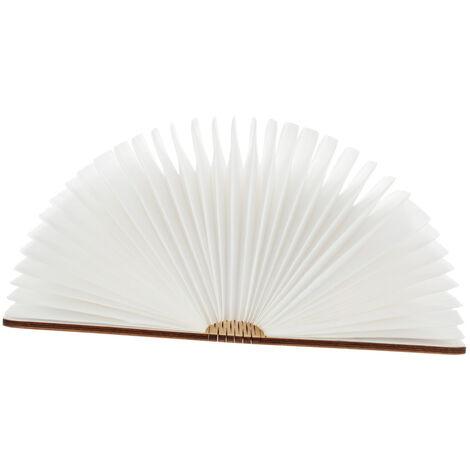 Lampe de livre creative pliable Lixada 4.5W 500LM blanc chaud