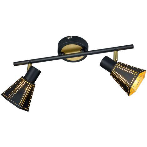 Lampe de plafond de luxe lampe porte-lumière projecteurs feux de tri triangle pivotant 800300411