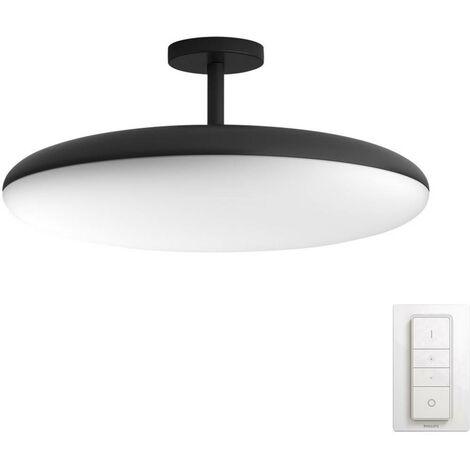 Lampe de plafond / murale LED 39 W 1x LED intégrée Philips Lighting Cher 4096/930/P7 noir, blanc 1 pc(s)
