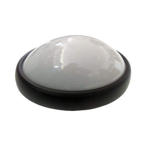 Lampe de plafond V-tac VT-8014 ronde - noire - 8W - 560Lm - 3000K