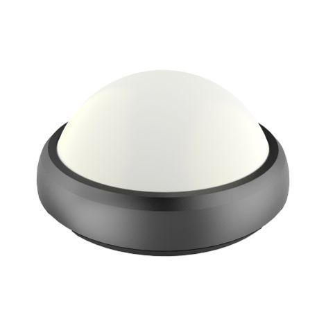 Lampe de plafond V-tac VT-8015 ronde - noire - 12W - 840Lm - 3000K