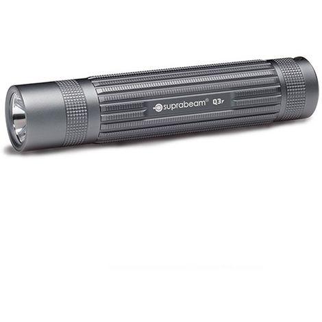 Lampe de poche à LED grise 500 Lumens avec mise au point coulissante - Portée 245 m - Q3 r - 503.5108 - Suprabeam - -