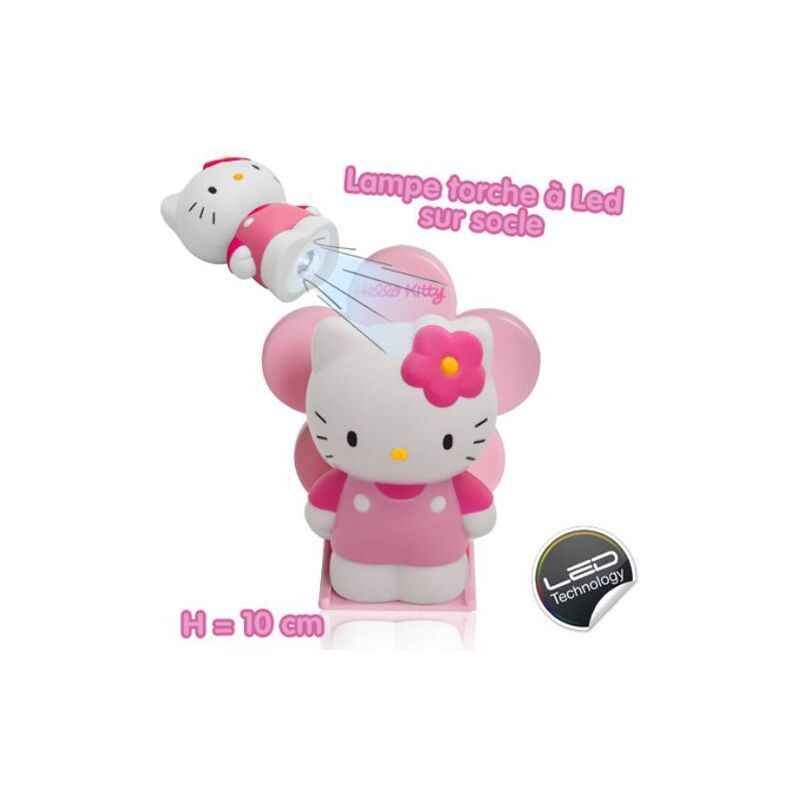 Icolor - Lampe de poche led Hello Kitty