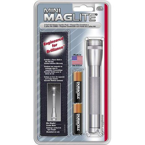 Lampe de poche Mag-Lite Mini 2 AA Ampoule crypton à pile(s) 12 lm 5.5 h 107 g