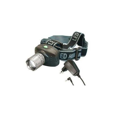 """main image of """"Lampe de poche rechargeable à LED 3w Zoom 60.382"""""""
