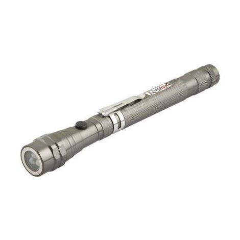 Lampe de poche torche telescopique aimantée max 570 mm