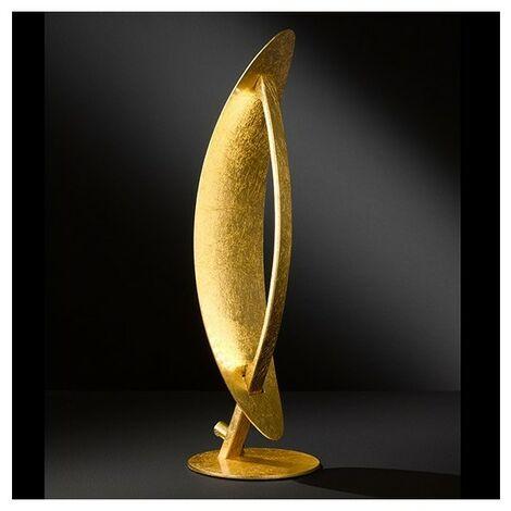 Lampe de salon LED dorée Orfèvre - Doré