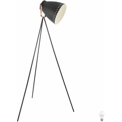 lampe de salon souffleuse Translucide Lampadaire Spot Design verstellbarim mis incl. lampes LED