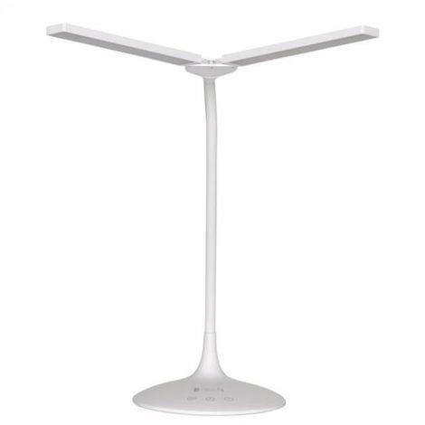 Lampe de table ailes 5w dimmable 2700/6500k batterie led blanc 101713
