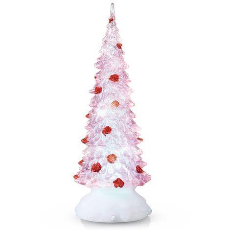 Lampe de table arbre de noël décoration lumière de x-tree LED décoration de Noël Esto 900403