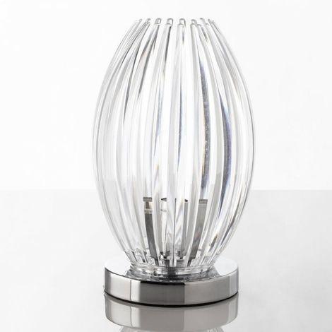 Lampe de table design Corolle haut. 31cm par Zendart Design - Intérieur