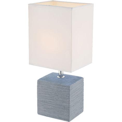 Lampe de table en céramique et textile rehaussera certainement votre vivant GERI
