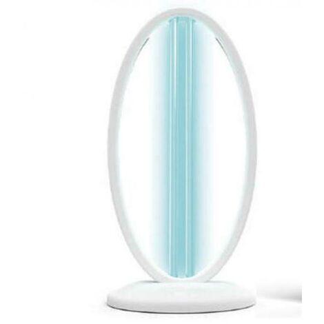 LAMPE DE TABLE EN CRISTAL MARIN NOIR STÉRILISANT UV-C 23023