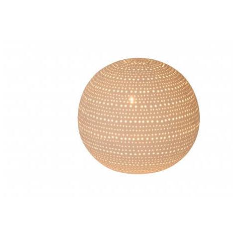 Lampe de table Globi - Blanc - Blanc