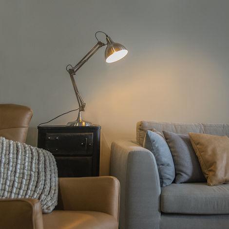 Classiqueantique Qazqa Hobby De Acier Lampe Table Luminaire CBerQdxoW