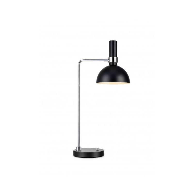 Markslojd - Lampe de table LARRY Noire 1 ampoule