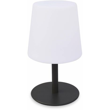 Lampe de table LED 28cm Ø 16cm - Lampada S Color