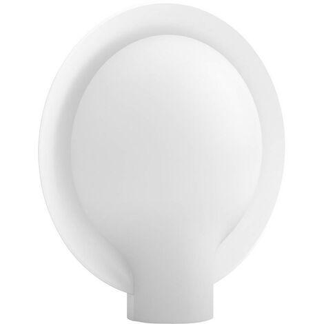 Lampe de table LED 9.5 W 1x E27, LED intégrée Philips Lighting Felicity 4097531P7 blanc 1 pc(s)