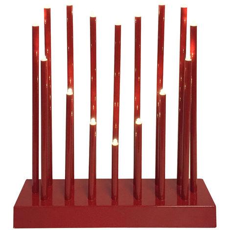 Lampe de table LED Éclairage de Noël Lampadaire forme coeur design rouge Nordlux 81741002