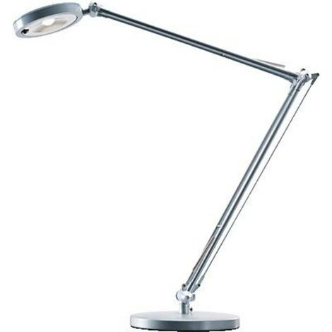 Lampe de table LED Hansawerke 4.8 W blanc neutre argent
