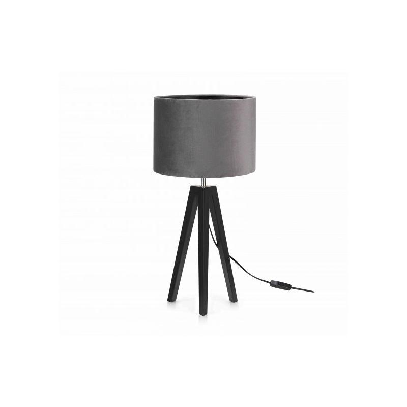 Markslojd - Lampe de table LUNDEN Noire et grise 1 ampoule