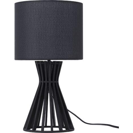 Lampe de table noir CARRION