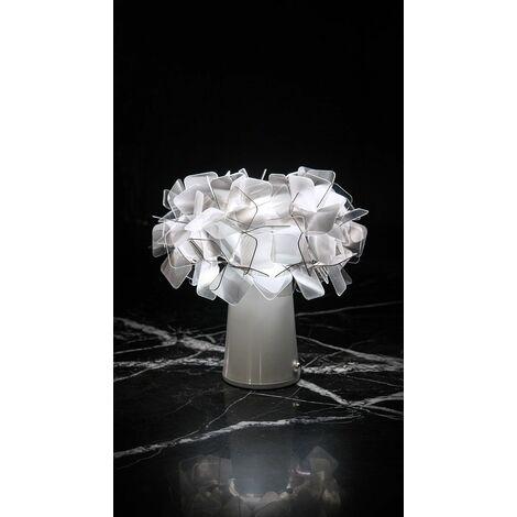 Lampe de Table Slamp CLIZIA TABLE Orange sans fil ricar. CLI78TAVB001F000