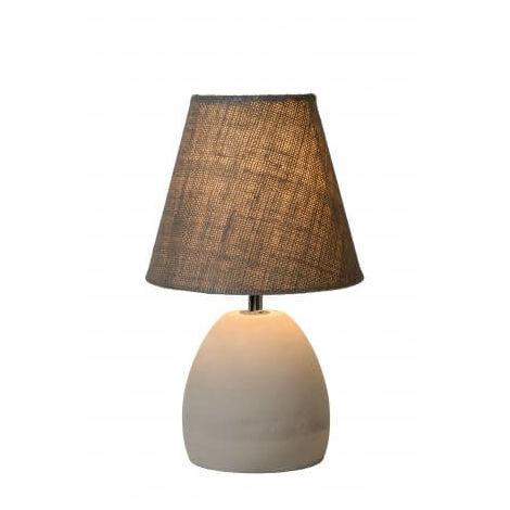 Lampe Cm Gris Table Solo Taupe De D18 QrdxoWCBe