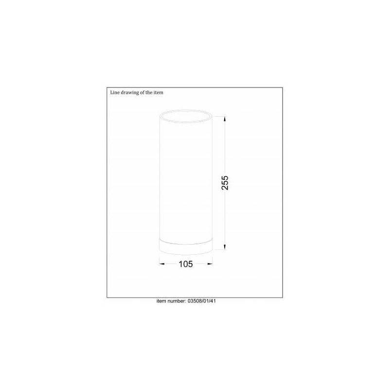 Gris D10 Cm Table Tubi 5 Lampe Taupe De PXw8k0On