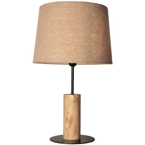 """Lampe de table """"Wood"""" E27"""