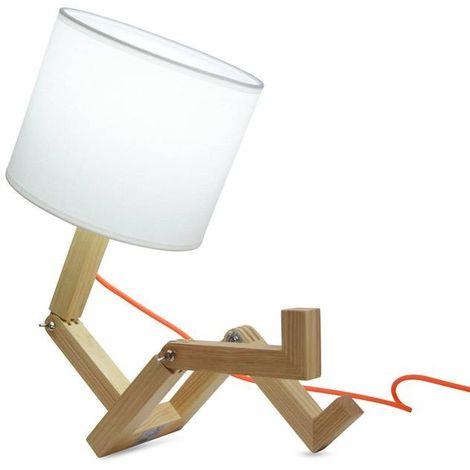 "Lampe de table ""Yoki"" | Blanc"