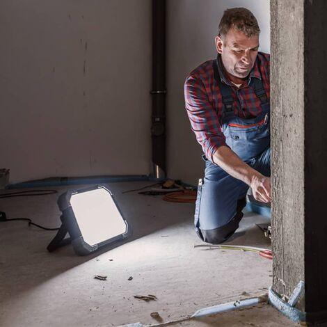 Lampe de travail LED sur batterie Brennenstuhl 1171570 noir, gris LED intégrée