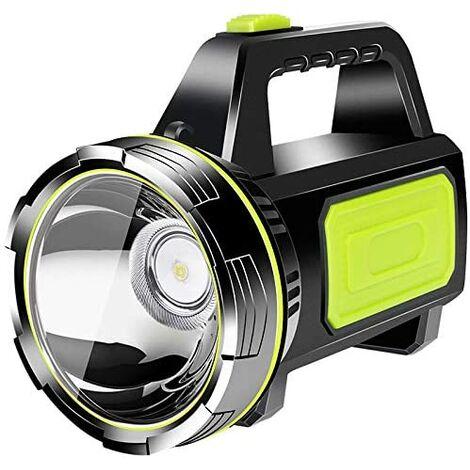 Lampe de Travail Rechargeable LED Torche, 4000mAh Batterie Torche à Main étanche Enfants Lanterne Lampe de Poche Bougie sécurité projecteur Lampe Camping Lanterne