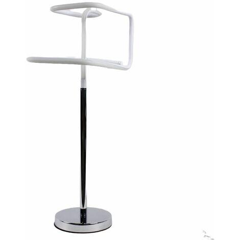 Lampe design à poser originale LED angulaire - SQUARE - Gris