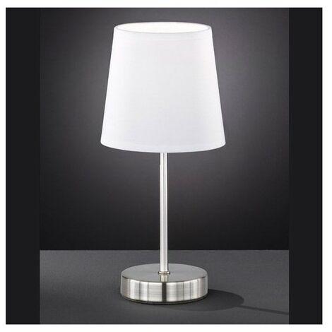 Lampe Design Amalia blanche - Blanc