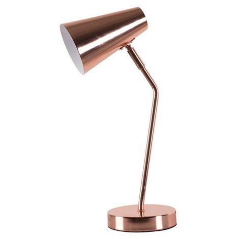 Lampe design Corep Charlie Cuivre Métal 650422