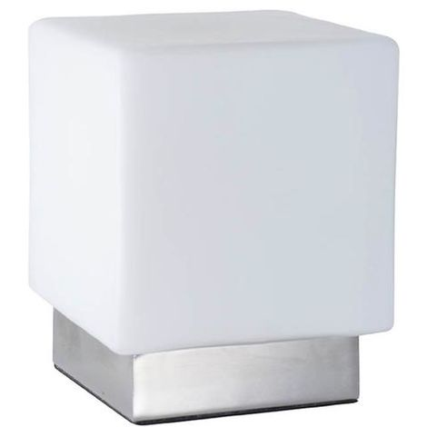 Lampe Design Corep Ice Cube Blanc Metal 650452