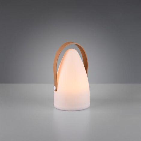 Lampe design Trio Haiti Blanc Plastique R57090101