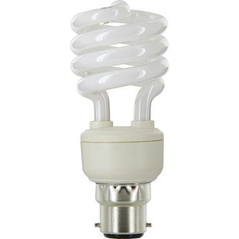 Lampe DHOME spirale fluo compacte E14 - E27 - B22