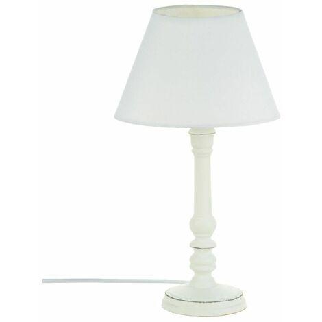 Lampe en bois H36