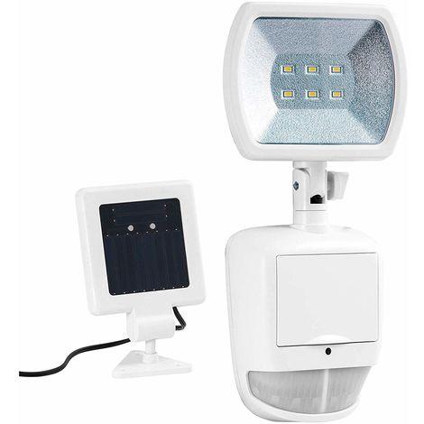 Lampe extérieure LED Solaire Duracell SL001DU avec Détecteur de mouvement Blanc