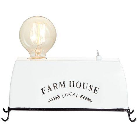 Lampe FARM LIFE 1x30W E27 Blanc