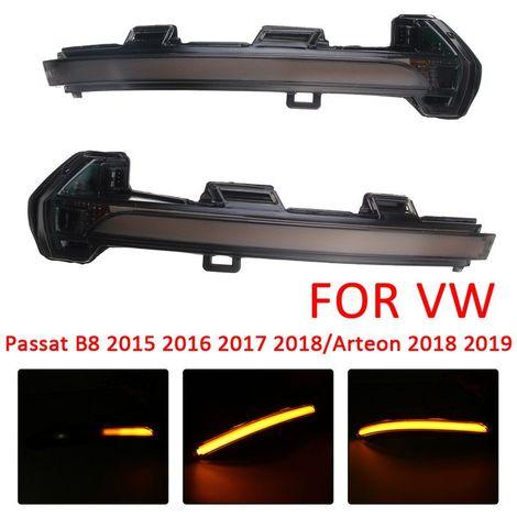 Lampe feu arriere LED de Retroviseurs latéraux pour VW Passat B8 2015 2016 2017 2018 Arteon 2017 2018
