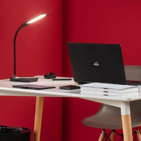 Lampe Flex LED Boga 5W Dimmable avec Chargeur Sans-Fil Noir - Noir