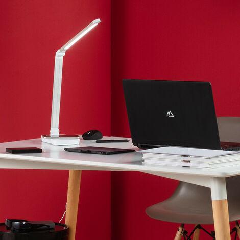 Lampe Flex LED Cia 5W Dimmable avec Chargeur sans Fil Blanc - Blanc