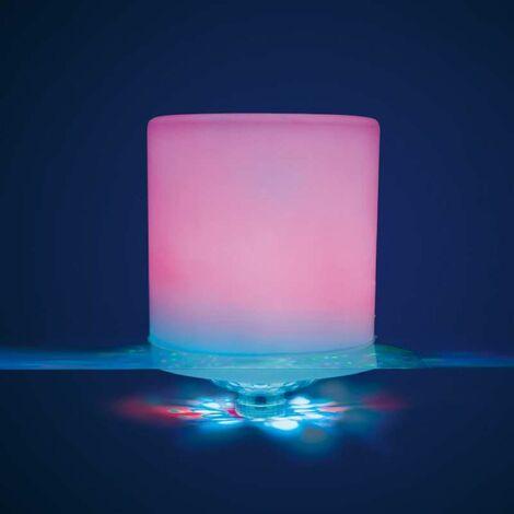Lampe flottante multicolore pour piscine