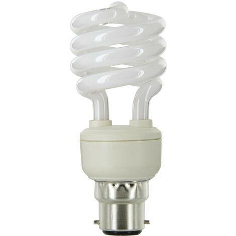 Lampe fluocompact spirale b22 blister 15 799 45 x 109