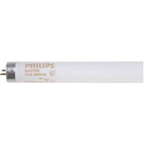 Lampe fluorescente Master TL-D Super 80 - 18W/840 1SL/25 - Philips