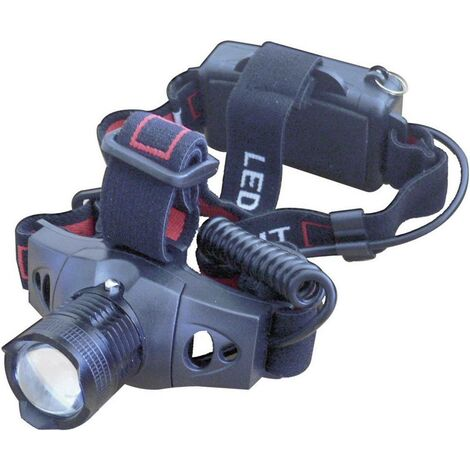 """main image of """"Lampe frontale LED Lumitorch HEAD-ZOOM à pile(s) 120 g 15 h noir V02816"""""""