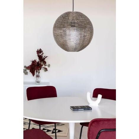 Lampe Globe SKLUM Acier - Gris Acier